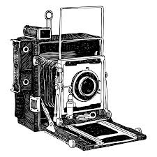 old timey vintage camera drawing by karl addison old timey