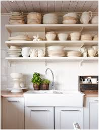 Kitchen Bookcase Ideas by 100 Decorating Ideas For Kitchen Shelves Wood Kitchen Wall