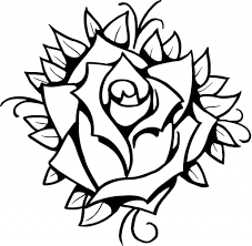 rose drawing designs 8 best images of printable roses designs