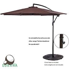 5 Foot Umbrella Patio The 5 Best Cantilever Umbrellas Ranked Product Reviews And Ratings