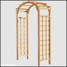 Home Depot Wood Trellis Garden Arbor With Gate Home Depot Home Outdoor Decoration