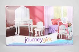 Childrens Vanity Tables My Journey Girls Dolls Adventures Journey Girls Vanity Review