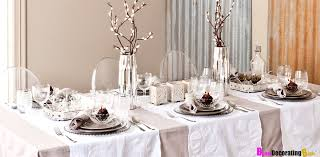 Christmas Dinner Decoration Ideas Diy by 5 Stunning Christmas Table Scapes