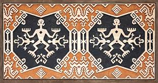 indonesian pattern jakarta indonesia october 20 2014 tribal pattern on the house