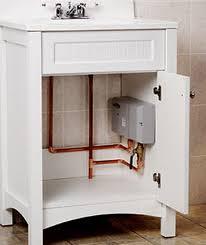 under the sink instant water heater under sink water heater 02 945