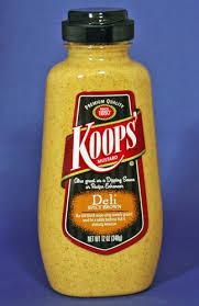 koops mustard kosher mustards koops spicy brown deli 12 oz national