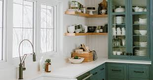 green base cabinets in kitchen 9 green kitchen cabinet ideas for your most colorful