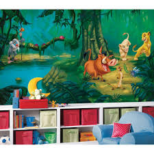 roommates lion king chair rail prepasted wall mural jl1253m the