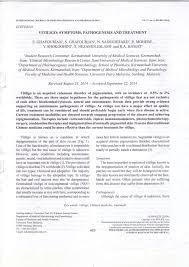vitiligo symptoms pathogenesis and treatment pdf download