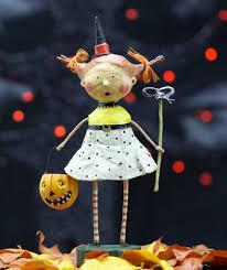 halloween figurine lori mitchell flirty gertie halloween witch figurine