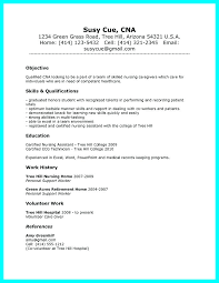 resume summary of qualifications for a cna certified nurses assistant resume assistant nursing home