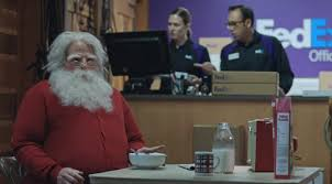maria bamford black friday target commercial see santa get busted in the new fedex commercial