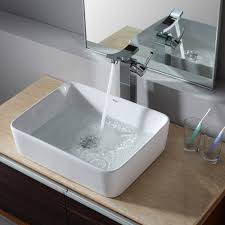 white rectangular vessel sink bathroom sinks for undermount vanity