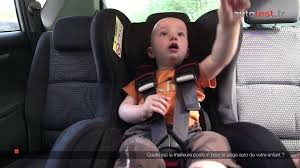siege auto enfant obligatoire comment installer un siège auto correctement