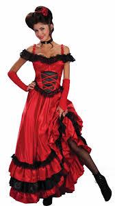 Halloween Costumes Red Saloon Western Costume Saloon Girls Western Costumes