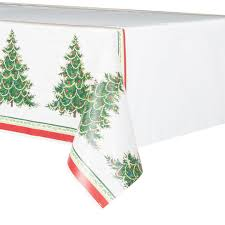 classic tree table cover decorations