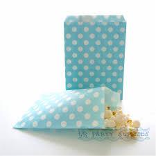 bulk party supplies 500pcs light blue paper party bags stripe chevron tile