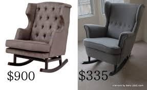 Ikea Strandmon Armchair Ikea Hack Strandmon Rocker Diy Wingback Rocking Chair