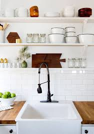 kitchenshelves com how to style your kitchen shelves coco kelley