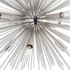 arteriors zanadoo fixed chandelier nickel candelabra inc