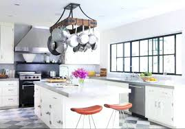 kitchen pot racks with lights kitchen hanging pot rack australia chandelier with and pan lights
