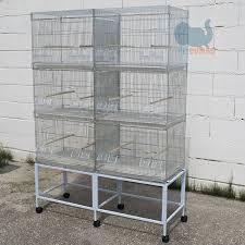 gabbie per gabbie per uccelli allevamento esposizione