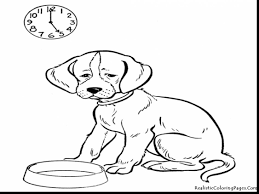 excellent realistic animal coloring pages dog with animals