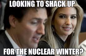 Justin Trudeau Memes - meme ing of life ivanka trump s amorous stare at justin trudeau