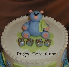 peggy does cake baby shower cake cute as a button