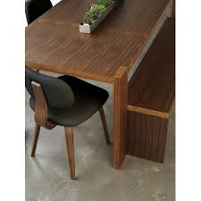 gus modern dining table pretentious gus modern plank dining table our and thompson chairs