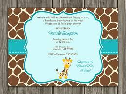 giraffe baby shower ideas giraffe baby shower invitations reduxsquad