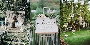 garden wedding ideas 25 brilliant garden wedding decoration ideas for 2018 trends