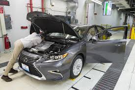 lexus es 350 video the first lexus ever made in the us rolled off the production line