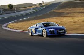 2018 audi r8 v10 gets minor upgrades including standard laser lights