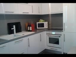 cuisine laqué blanc cuisine blanc laqué et noir photos de design d intérieur et