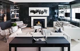 Black And White Home Decor Ideas How To Ace Decorating With Dark Walls Photos Architectural Digest