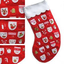 christmas stocking advent calendar personalized festive