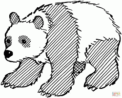 baby panda bear coloring pages to print archives and panda bear