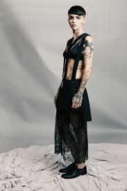 oitnb u0027s ruby rose flaunts her tattoos in byrdie shoot talks hair