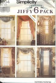 Pattern Drapes Curtains Simplicity Window Treatment Covering Curtains Drapes Home Decor