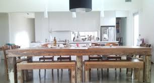Reclaimed Timber Dining Table Recycled Timber Dining Room Tables Natural Modern Interiors