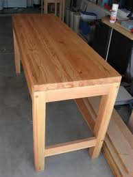 Woodworking Bench Top Plans by Best 25 Wood Work Bench Ideas Ideas On Pinterest Diy Workbench
