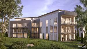 architekturvisualisierung mehrfamilienhaus bei düsseldorf