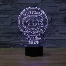 nhl montreal canadiens ice hockey league club shadow visual light
