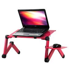 360 folding laptop computer notebook table stand bed sofa desk