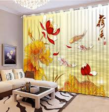 Modern Window Curtains by Online Get Cheap Fish Window Curtains Aliexpress Com Alibaba Group