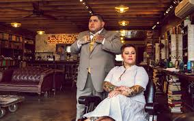 the modern man barber shop located in portland oregon portraits