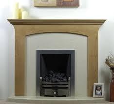 decor interior natural chestnut wooden fireplace mantel designs