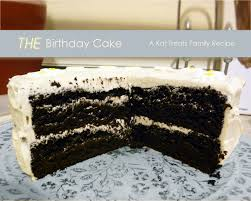 dark chocolate cake with cream frosting myuntangledlife com