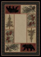 Pine Cone Area Rugs Pinecone Area Rugs Ebay